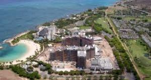 Aulani and Marriott Aerial Shot