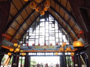 Aulani Main Lobby Arch