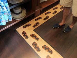 Aulani Peters Feet Inlay wood