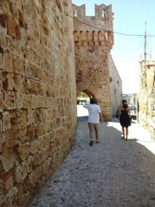 Andrew going in Fortress Rhodes