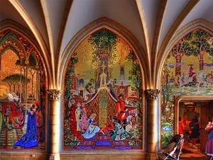 Cinderella Castle Mosaic Wall