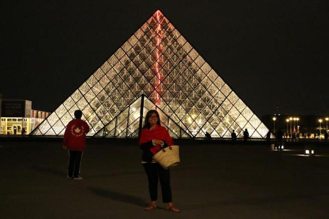 Jackie Louvre Museum Paris