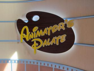 Animators Palate Sign