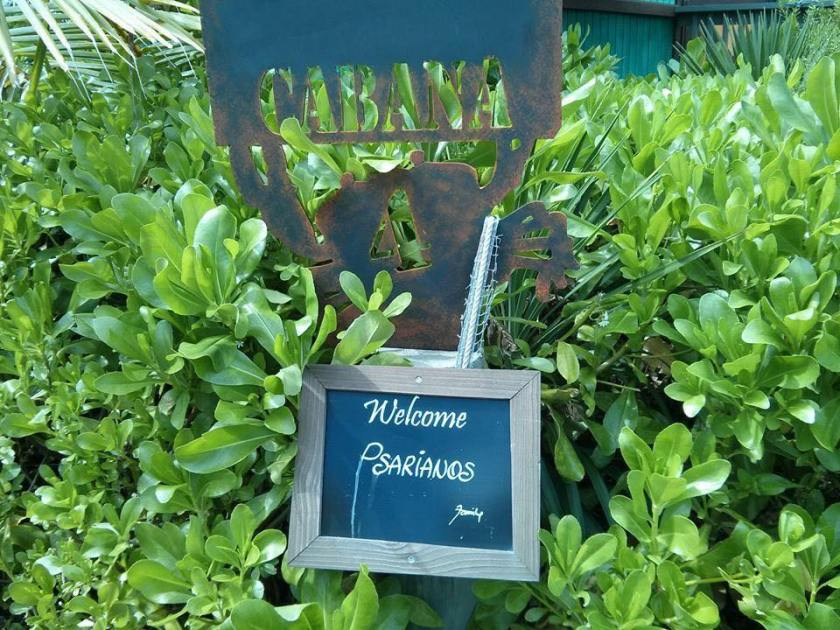 Cabana Sign Psarianos